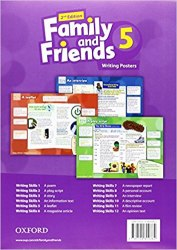 Family and Friends 5 (2nd Edition) Writing Posters / Плакати