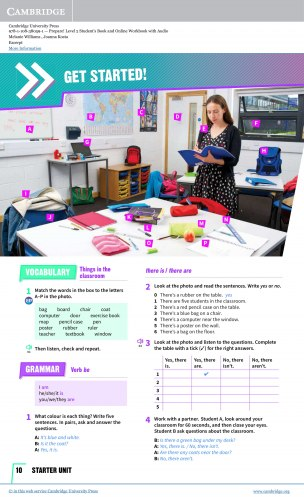 Cambridge English Prepare! (2nd Edition) 2 Student's Book / Підручник для учня