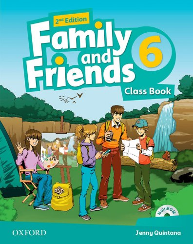Family and Friends 6 (2nd edition) Class Book and Multi-ROM / Підручник для учня