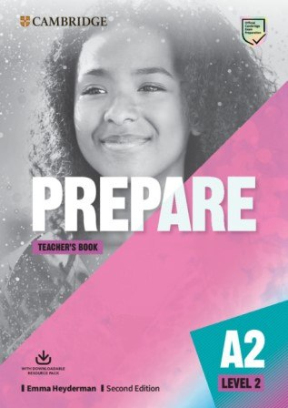 Cambridge English Prepare! (2nd Edition) 2 Teacher's Book with Downloadable Resource Pack / Підручник для вчителя