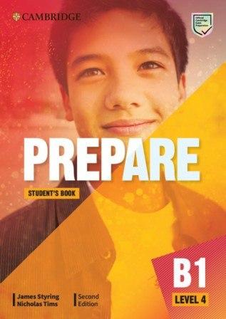 Cambridge English Prepare! (2nd Edition) 4 Student's Book / Підручник для учня