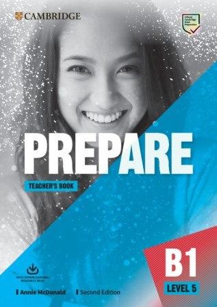 Cambridge English Prepare! (2nd Edition) 5 Teacher's Book with Downloadable Resource Pack / Підручник для вчителя