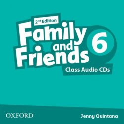 Family and Friends 6 (2nd Edition) Class CDs Oxford University Press