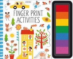 Fingerprint Activities / Книга-розмальовка