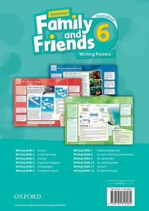 Family and Friends 6 (2nd Edition) Writing Posters / Плакати