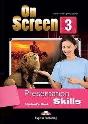 On Screen 3 Presentation Skills Student's Book / Посібник для мовних навичок