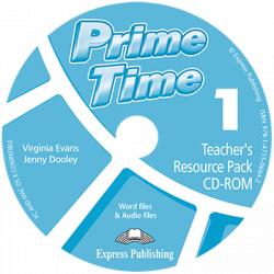 Prime Time 1 Teacher's Resource Pack & Test CD-ROM / Інтерактивний диск