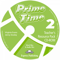 Prime Time 2 Teacher's Resource Pack & Test CD-ROM / Інтерактивний диск