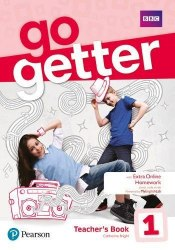 Go Getter 1 Teacher's Book with MyEnglishLab & Online Extra Homework + DVD-ROM Pack / Підручник для вчителя