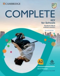 Complete Key for Schools (2nd Edition) Student's Book without Answers with Online Practice / Підручник для учня