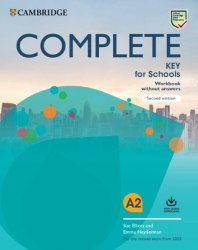 Complete Key for Schools (2nd Edition) Workbook without Answers with Audio Download / Робочий зошит
