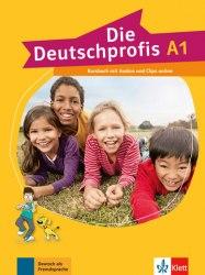 Die Deutschprofis A1 Kursbuch mit Audios und Clips online / Підручник для учня