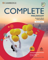 Complete Preliminary (2nd Edition) Student's Book with Answers with Online Practice / Підручник для учня