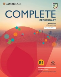 Complete Preliminary (2nd Edition) Workbook with Answers and Audio Download / Робочий зошит