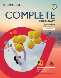 Complete Preliminary (2nd Edition) Self Study Pack without Answers / Набір книг, підручник + зошит