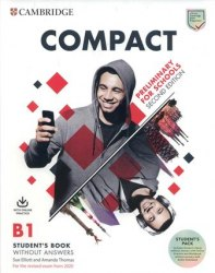 Compact Preliminary for Schools (2nd Edition) Student's Pack / Набір книг, підручник + зошит