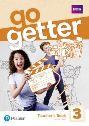 Go Getter 3 Teacher's Book with MyEnglishLab & Online Extra Homework + DVD-ROM Pack / Підручник для вчителя