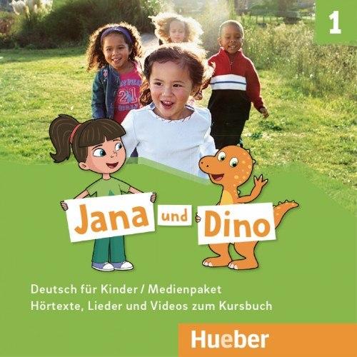 Jana und Dino 1 Medienpaket / Аудіо диск