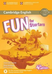 Fun for Starters (4th Edition) Teacher's Book with Downloadable Audio / Підручник для вчителя
