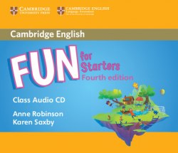 Fun for Starters (4th Edition) Class Audio CD / Аудіо диск