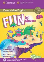 Fun for Movers (4th Edition) Student's Book with Downloadable Audio, Online Activities and Home Fun Booklet / Підручник для учня з буклетом