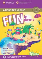 Fun for Movers (4th Edition) Student's Book with Downloadable Audio and Online Activities / Підручник для учня