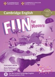 Fun for Movers (4th Edition) Teacher's Book with Downloadable Audio / Підручник для вчителя