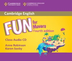 Fun for Movers (4th Edition) Class Audio CD / Аудіо диск