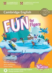 Fun for Flyers (4th Edition) Student's Book with Downloadable Audio, Online Activities and Home Fun Booklet / Підручник для учня з буклетом