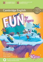 Fun for Flyers (4th Edition) Student's Book with Downloadable Audio and Online Activities / Підручник для учня