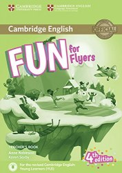 Fun for Flyers (4th Edition) Teacher's Book with Downloadable Audio / Підручник для вчителя