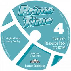 Prime Time 4 Teacher's Resource Pack & Test CD-ROM / Інтерактивний диск