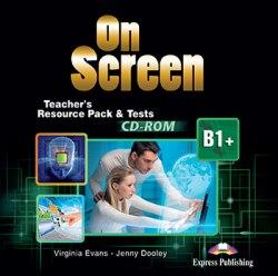 On Screen B1+ Teacher's Resourse Pack CD-ROM / Диск з тестами