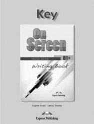 On Screen B1+ Writing Book Key / Брошура з відповідями