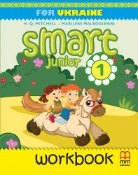 Smart Junior Ukraine НУШ 1 Workbook with CD/CD-Rom / Робочий зошит