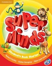 Super Minds Starter Student's Book with DVD-ROM including Lessons Plus for Ukraine / Підручник для учня