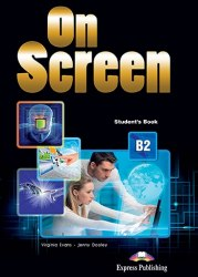 On Screen B2 Student's Book with Writing Book / Підручник для учня