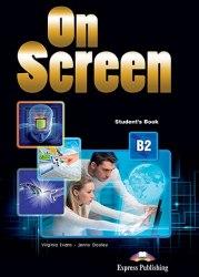 On Screen B2 Student's Book with Writing Book / Підручник для учня