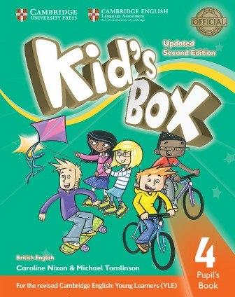Kid's Box Updated Level 4 Pupil's Book British English / Підручник для учня