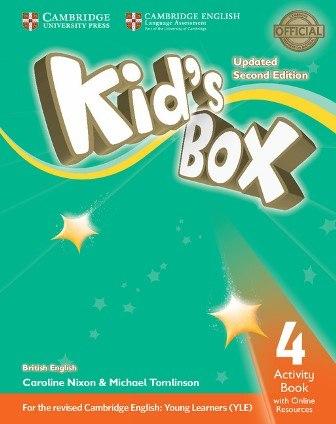Kid's Box Updated Level 4 Activity Book with Online Resources British English / Робочий зошит