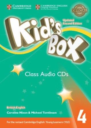 Kid's Box Updated Level 4 Class Audio CDs British English / Аудіо-диск