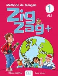 ZigZag+ 1 Méthode de Français — Livre de l'élève avec CD audio / Підручник для учня