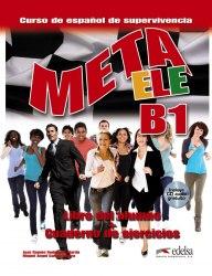 Meta ELE B1 Libro del alumno + Cuaderno de ejercicios + CD audio / Підручник + зошит