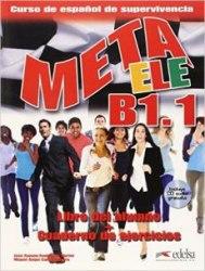 Meta ELE B1.1 Libro del alumno + Cuaderno de ejercicios + Audio CD / Підручник + зошит