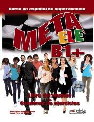 Meta ELE B1+ Libro del alumno + Cuaderno de ejercicios + Audio CD / Підручник + зошит
