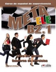 Meta ELE B2.1 Libro del alumno + Cuaderno de ejercicios + Audio CD / Підручник + зошит