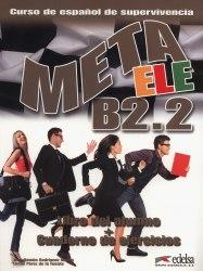 Meta ELE B2.2 Libro del alumno + Cuaderno de ejercicios / Підручник + зошит