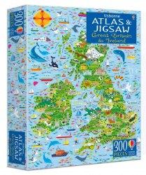 Great Britain and Ireland Atlas and Jigsaw / Книга з пазлом