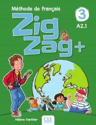 ZigZag+ 3 Méthode de Français — Livre de l'élève avec CD audio / Підручник для учня