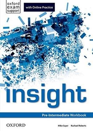 Insight Pre-Intermediate Workbook with Online Practice / Робочий зошит